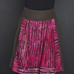 Personality pleated skirt