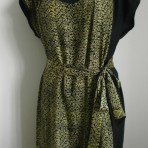 Batik dress in 100% silk